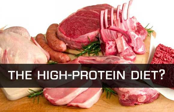 how to start a high protein diet