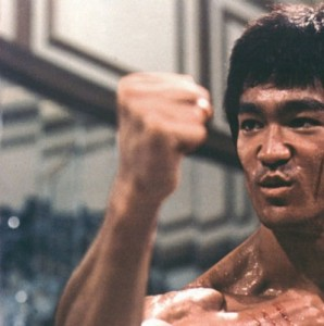 """Bruce Lee says, """"Timing is everything.  Especially when kicking someone's ass."""""""