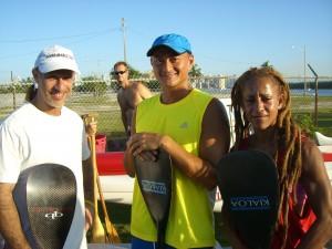 Doug me and Staci Aug 2009 paddling