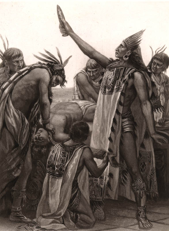 human sacrifice of the aztecs The findings indicate that the aztecs had a human sacrifice industry so massive that it can not be compared to any other in the history of the world.
